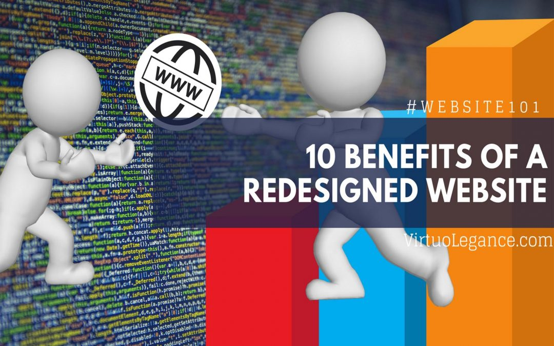 10 Benefits of A Redesigned Website