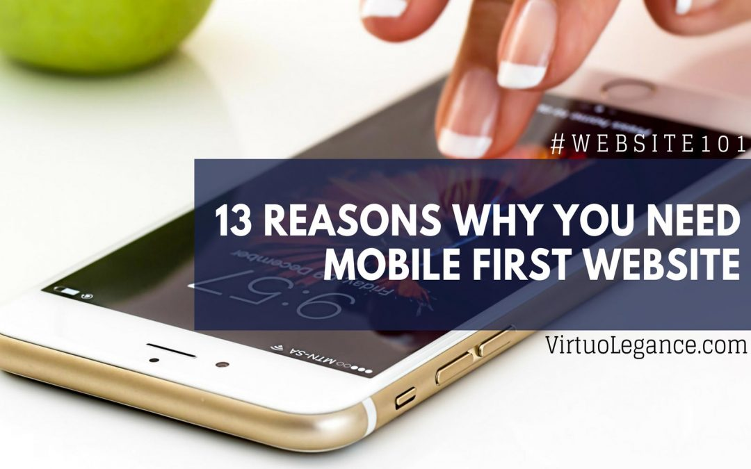 13 Reasons Why Your Business Needs A Mobile-First Website