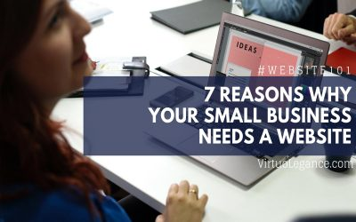 7 Reasons Why Your Small Business Needs A Website